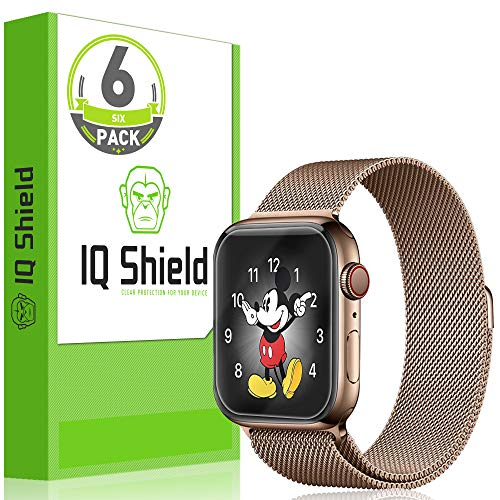 IQ Shield Screen Protector Compatible with Apple Watch Series 4 (40mm)(6-Pack)(Easy Install) LiquidSkin Anti-Bubble Clear Film