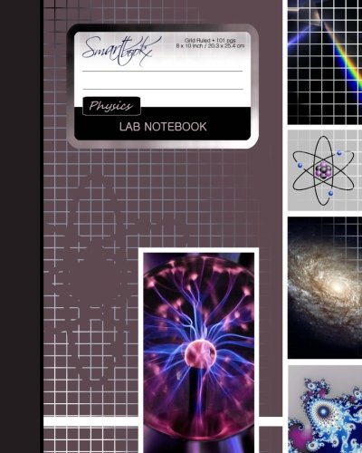Lab Notebook: Physics Laboratory Notebook for Science Student / Research / College [ 101 pg - NOT DUPLICATE * Perfect Bound * 8 x 10 inch ] (Composition Books - Specialist Scientific)