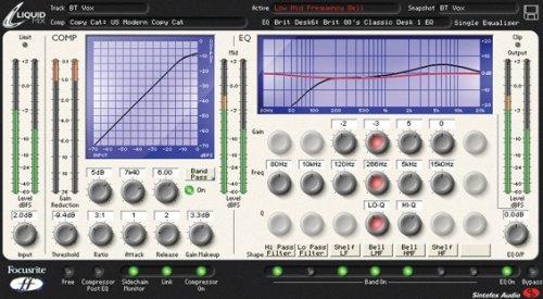 Focusrite Liquid Mix HD TDM Plugin for Pro Tools HD