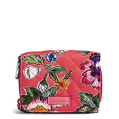 Vera Bradley womens 22570 Iconic Rfid Card Case - Signature pink Size: One Size