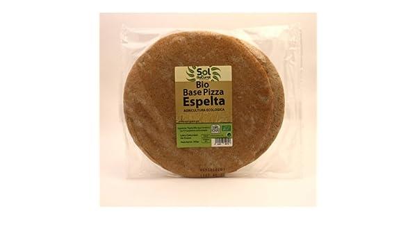 Sol Natural Base de Pizza Espelta Integral 300 Gramos: Amazon.es: Alimentación y bebidas