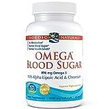 Nordic Naturals Omega Blood Sugar Formula 1,000 Mg Softgels, 60 Count