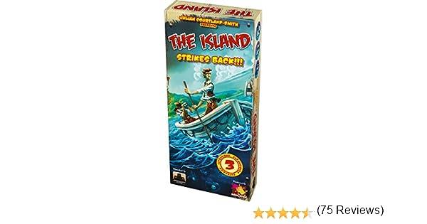 Asmodee- Juego de Tablero The Island Strikes Back (ADE0ISL02ML ...