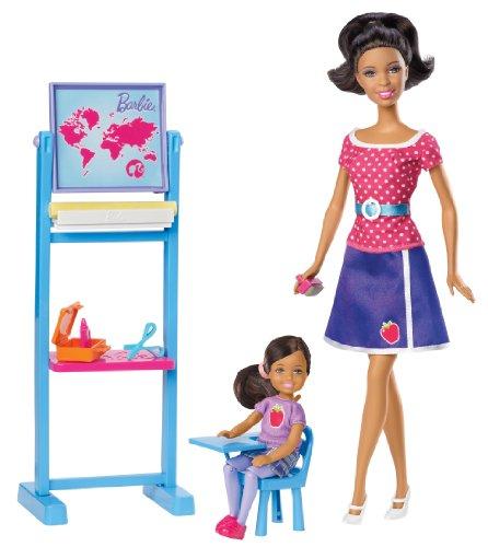 Barbie I Can Be Teacher Nikki Doll Playset