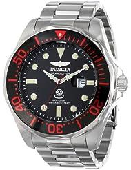 Invicta Mens INVICTA-14652 Pro Diver Analog Display Swiss Quartz Silver Watch
