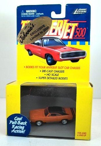 Johnny Lightning Thunder Jet 500 - HO Scale - Pull Back Action - 1968 Dodge Charger