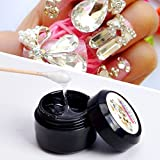 Nail Art Tool,Putars Women Portable Nail Art Faluse Nail Tips Professional Acrylic Beauty Rhinestones Mini Glue 8ml