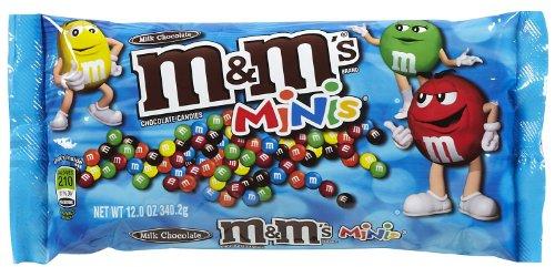 M&M's Milk Chocolate Mini M&M's 10.80 oz ()