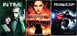 V for Vendetta / Robocop + In Time DVD - Special movie 3 Pack Sci-Fi Set