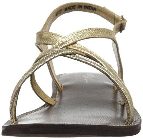 Sandal Dress Women's Gold Torie Rebels tvwgRt