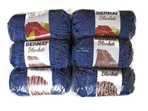 Bernat Blanket Yarn, 5.3oz, 6-Pack