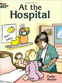 at the hospital dover coloring books cathy beylon