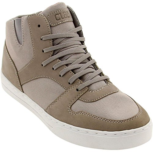 Clae Men's Rollins (concrete canvas)-9.5