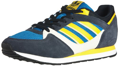 Adidas - Zx 100 - D67730 - Färg: Blå-marinblått - Storlek: 10,0