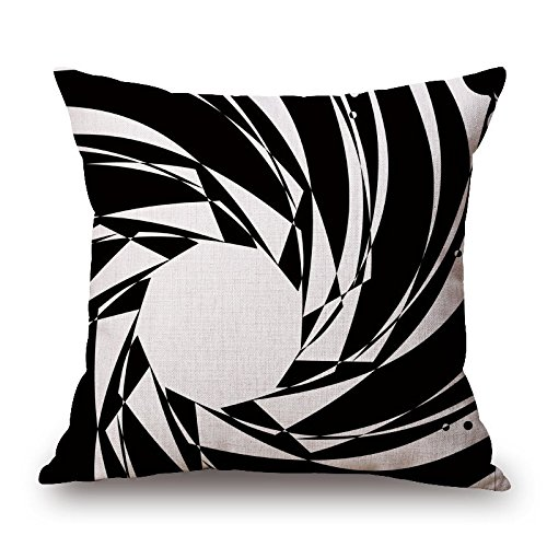 Throw Pillow Case 20 X 20 Inches / 50 By 50 Cm(twice Sides) Nice Choice For Bf,home Theater,outdoor,saloon,floor,festival Geometric