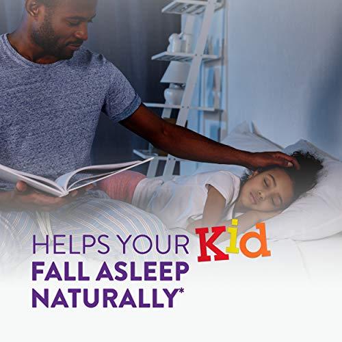 Vicks Pure Zzzs Kidz Melatonin Lavender & Chamomile Sleep Aid Gummies for Kids & Children, Natural Berry Flavor, 0.5mg per gummy, 48 Ct by Vicks (Image #4)
