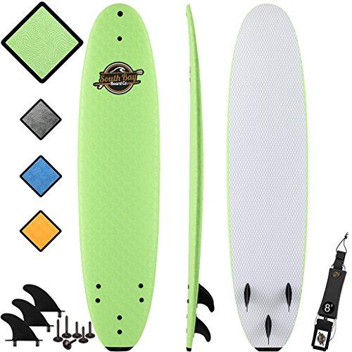 8' Beginner Foam Surfboard - Premium Soft Top Surfboards - The 8' Verve