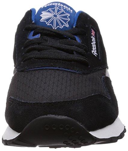 RS Cl schwarz Sneaker nylon weiß V66929 Reebok blau Herren wpnqB1vv