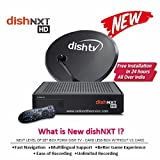 Dish TV HD Set Top Box with 1 month titanium & full on HD pack (free recording)