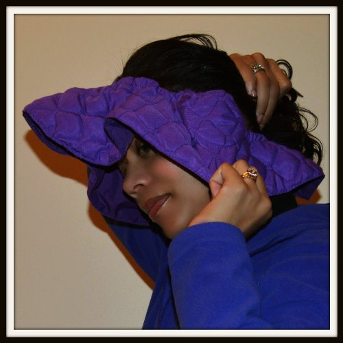 Hair Dryer Heat Shield (Purple) (Color Changer Makeup)
