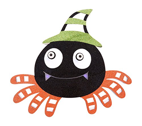 Lighted Halloween Sign Wall Hanging Decoration (Spider)