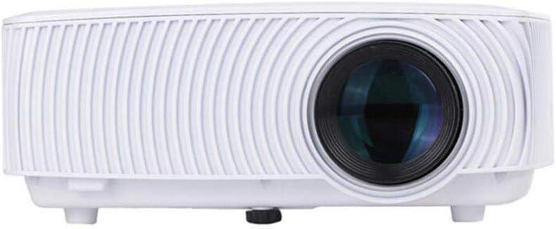 Proyector Mini proyector LED portátil, Cine en casa HD 1080P, se ...