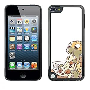 Exotic-Star ( Ninja Pizza Character Children'S ) Fundas Cover Cubre Hard Case Cover para Apple iPod Touch 5