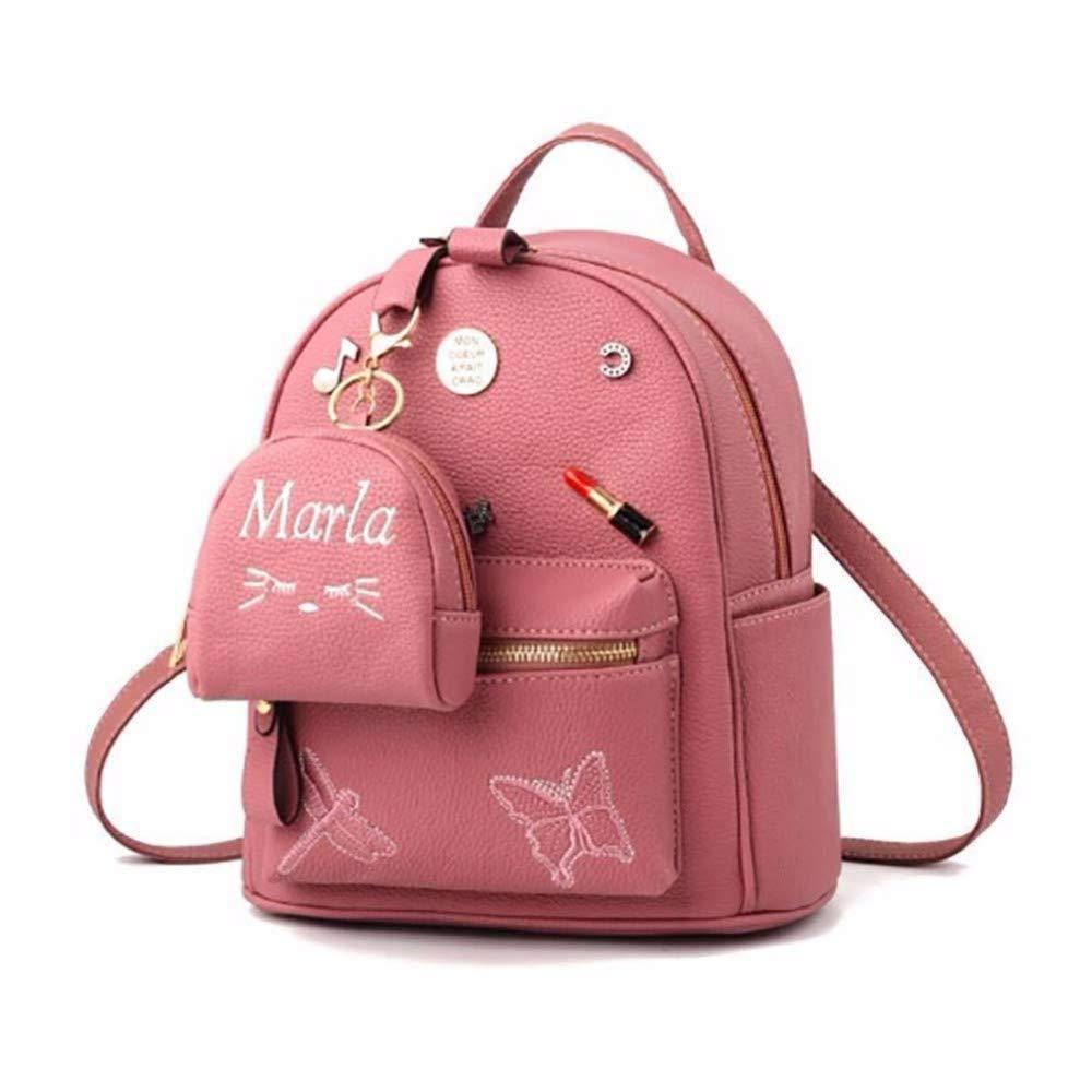 Gaot Pu - Lady Tasche Neue Lady Tasche Geneigte Dame Dame Dame Mit Einheitlichen Schulter Rucksack,2 Rosa B07PS6NZRZ Rucksackhandtaschen Im Gegensatz zu dem gleichen Absatz 7fb1a5