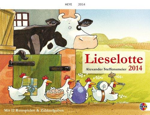 Kuh Lieselotte Spiral Date Book 2014