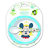 Mickey Mouse Baby Microwave Bowl and Spoon Set