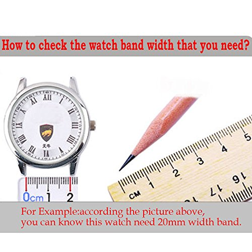 Cbin Quick Release Bracelet - Width 16mm / 18mm / 20mm / 22mm / 24mm Stainless Steel Strap Wrist Band Replacement Watch Bands (Black, 22mm) by cbin (Image #1)