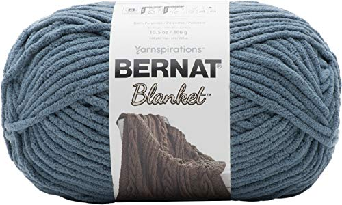 Bernat Blanket Yarn, 10.5 oz, Stormy Green, 1 Ball