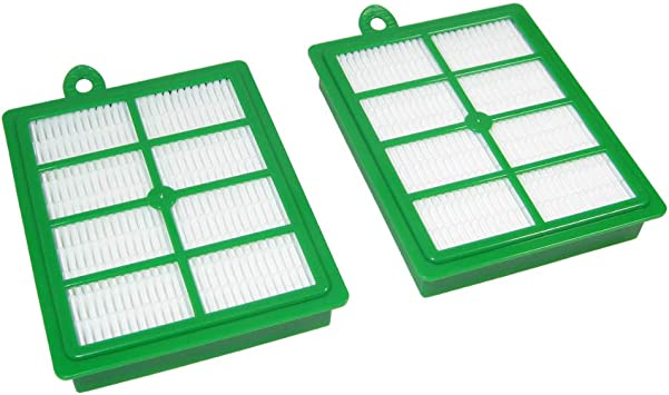 Hepa Filtre Set Allergie pour Philips FC9170//01-07 Performer