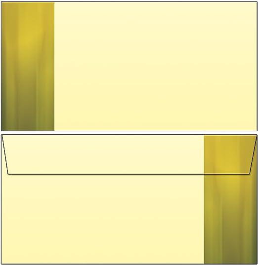 Osterglocken Narzissen gelb Set Motivpapier Briefpapier 20 Blatt A4 20 Kuverts