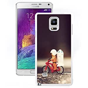 Durable Phone Case R2D2 Star Wars LEGO Galaxy Note 4 Wallpaper in White