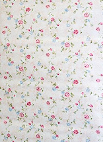 shabby chic tapete awesome petite fleur rasch textil pink. Black Bedroom Furniture Sets. Home Design Ideas