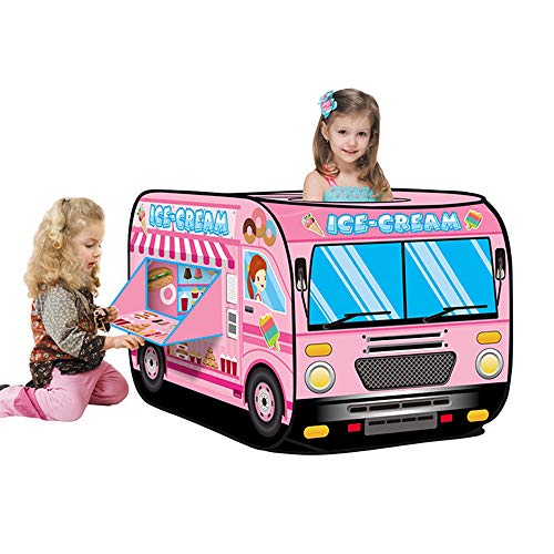 Blueseao Ice Cream Truck Popping Children's Tent Candy Car Carrying Handbag Toy Great Gift Idea