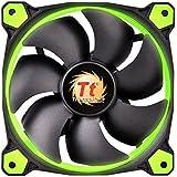 Thermaltake CL-F038-PL12GR-A Ventola per Cassa PC, Verde