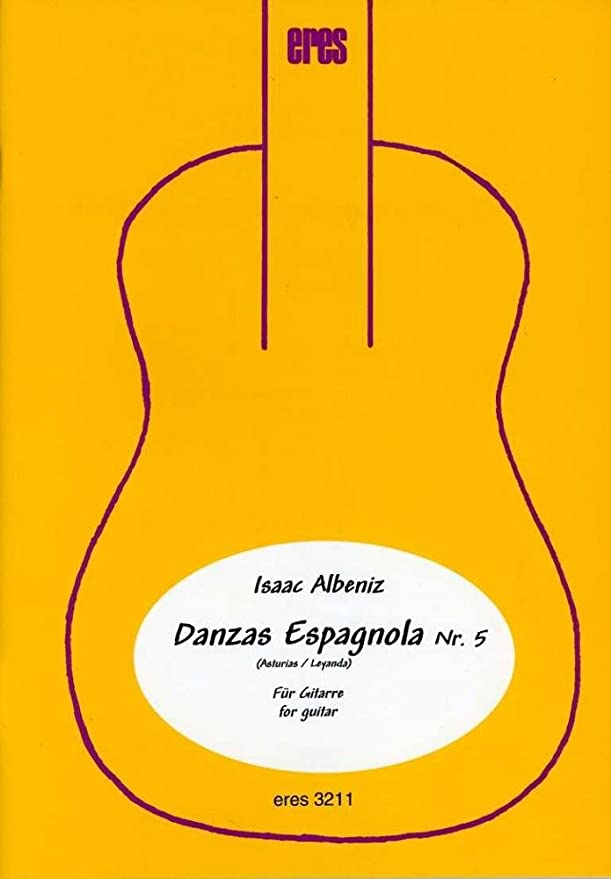 Asturias: para 2 Guitarras Partitura y Voces: Albéniz, Isaac ...
