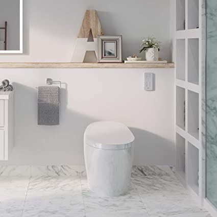 Cool Ove Decors Lena Smart Toilet White Amazon Com Uwap Interior Chair Design Uwaporg