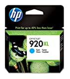 High-Capacity Original HP 920XL Cyan Ink Cartridge XL High Cyan