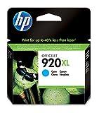 High-Capacity Original HP 920XL Cyan Ink Cartridge XL High Cyan