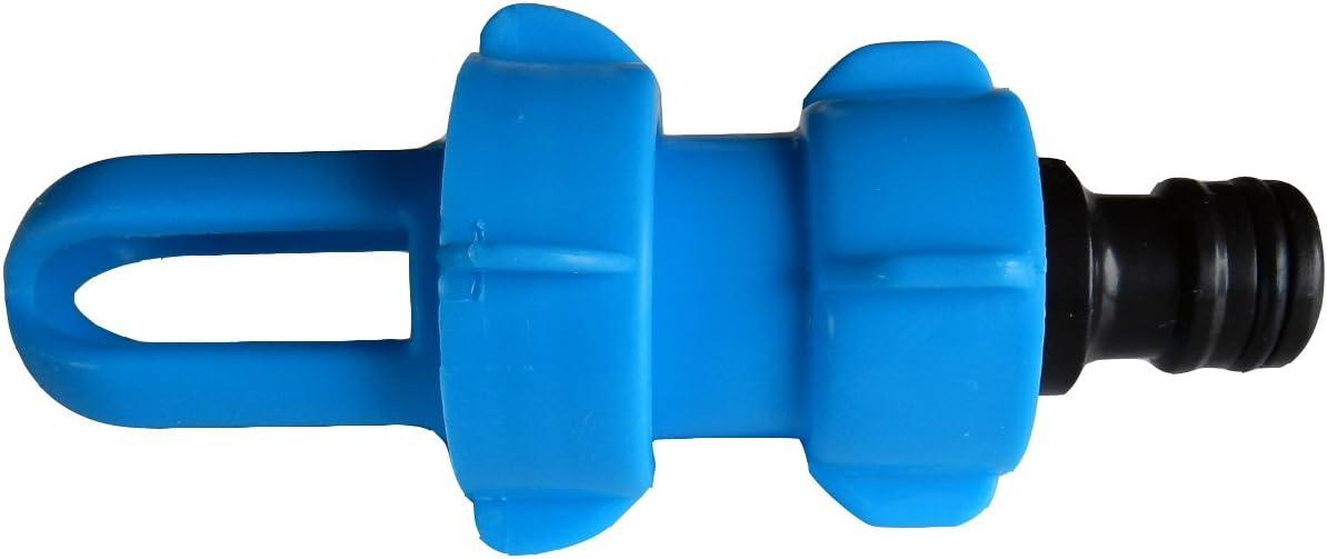 und Entleerungsadapter BLUE MAGIC mit Gardena-kompatiblem Schlauchanschluss AQWater4all Wasserbett F/üll