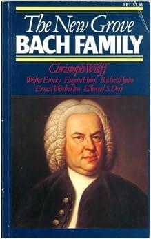 The New Grove Bach Family