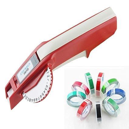 Yoton Label máquina de bricolaje cinta cortadora bump ...