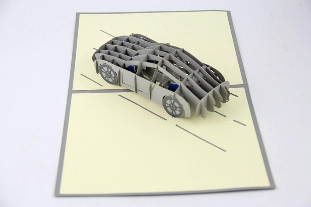 isharecards® handmade 3d Pop Up Tarjetas de felicitación para cada ocasión - Roadster: Amazon.es: Oficina y papelería