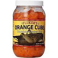 Fluker's 71301 Orange Cube Complete Cricket Diet, 12oz