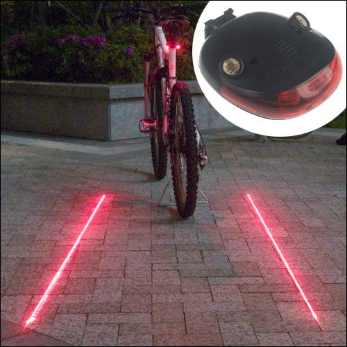 Candance Laser Cycling Bicycle Taillight