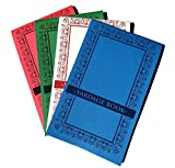 Emblemedia Golf Yardage Book (4 Pack) PGA Tour Template W/Stat Tracking Inserts
