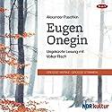 Eugen Onegin Hörbuch von Alexander Puschkin Gesprochen von: Volker Risch